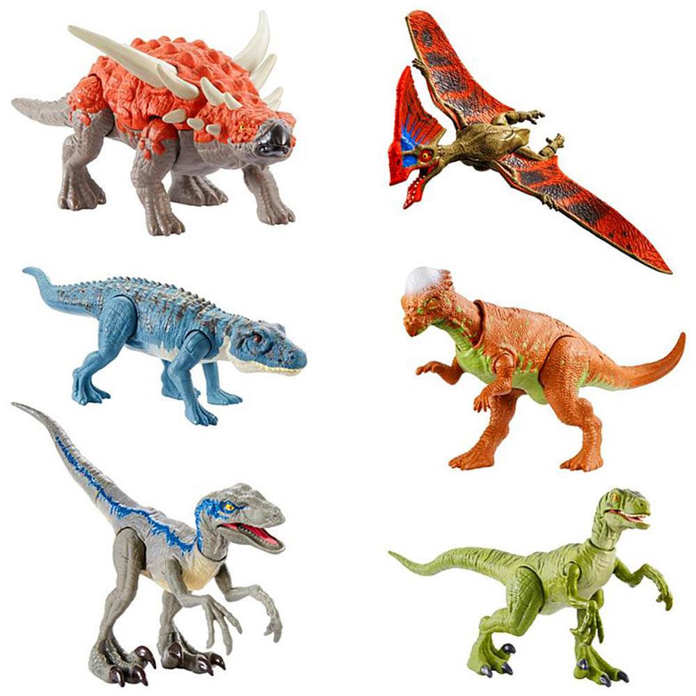 Dinosaurios Batalla Feroz Jurassic World Mattel Plazavea Supermercado Jurassic world dinosaurio sarcosuchus con movimiento mattel. pen