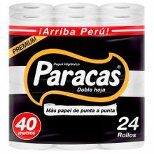 Papel Higienico Doble Hoja Paracas Gold Negro ...