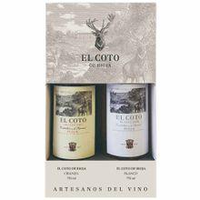 Pack El Coto Crianza 2015 Botella 750Ml + Blan...