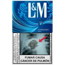 Cigarros L&M Forward Blue Paquete 20Un