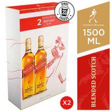 Pack Whisky Johnnie Walker Red Label Botella 7...