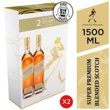 Pack Whisky Johnnie Walker Gold Label Botella ...