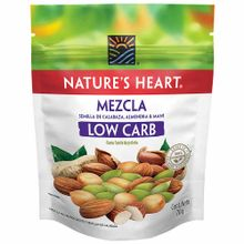 Snack Nature'S Heart Low Carb Doypack 70G