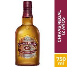 Whisky Chivas Regal 12 Años Botella 750Ml