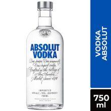 Vodka Absolut Clásico Botella 750Ml