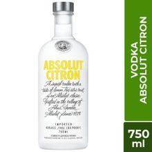 Vodka Absolut Citron Botella 750Ml