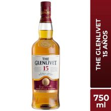 Whisky The Glenlivet 15 Años Botella 750Ml