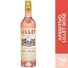 Licor A Base De Vino Rosé Lillet Botella 750Ml