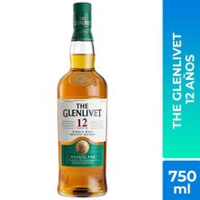 Whisky The Glenlivet 12 Años Botella 750Ml
