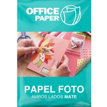 Papel Fotográfico Office Paper Ambos Lados Mat...