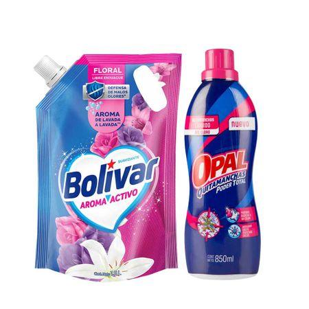 pack-bolivar-suavizantearoma-activo-doypack-1-5l-quitamanchas-liquido-opal-poder-total-frasco-850ml