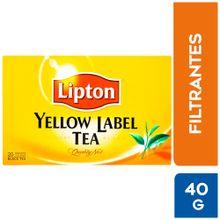 Infusiones Lipton Té Negro Con Camellia Sinens...