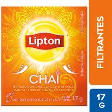 Infusiones Lipton Té Chai Gengibre Clavo Y Can...