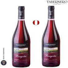 Vino Tabernero Borgoña Botella 750Ml Paquete 2...