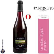 Vino Tabernero Gran Tinto Semi Seco Botella 75...