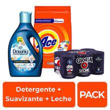 pack-detergente-ace-bolsa-4kg-suavizante-downy-brisa-fresca-botella-2-8l-leche-gloria-evaporada-lata-400g-paquete-6un