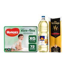 pack-huggies-panales-active-sec-talla-xg-paquete-72un-aceite-vegetal-nicolini-botella-1l-spaghetti-don-vittorio-bolsa-1kg