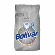 Detergente En Polvo Bolivar Matic Bolsa 780G
