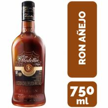 Ron Medellín 3 Años Botella 750Ml