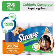 Papel Higiénico Suave Cuidado Completo Doble H...