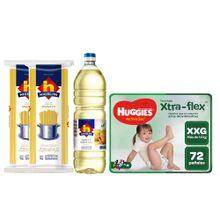 pack-huggies-nicolini-panales-active-sec-xxg-paquete-72un-aceite-veg-botella-1l-spaghetti-bolsa-1kg-x-2un