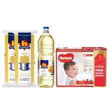 pack-huggies-nicolini-panales-natural-care-xxg-paquete-68un-aceite-veg-botella-1l-spaghetti-bolsa-1kg-x-2un