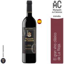 Vino Marqués De Cáceres Rioja Gran Reserva Bot...