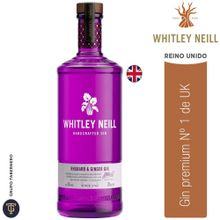 Gin Whitley Neill Rhubarb & Ginger Botella 750...