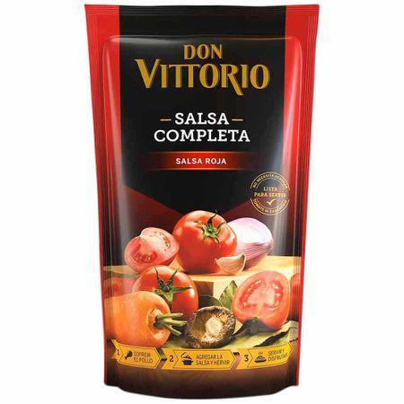 Salsa Roja Don Vittorio Doypack 400g Plazavea Supermercado