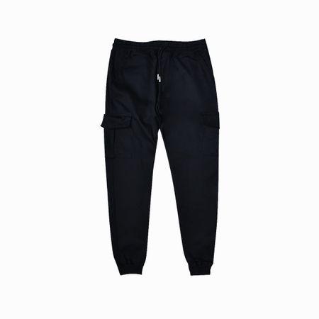 Pantalon Dexmen Jogger Cargo Drill Negro Supermercado