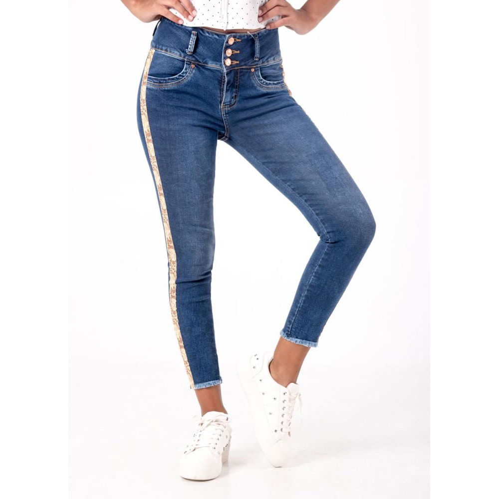 Jeans Squeeze Latiffe Tobillero Supermercado