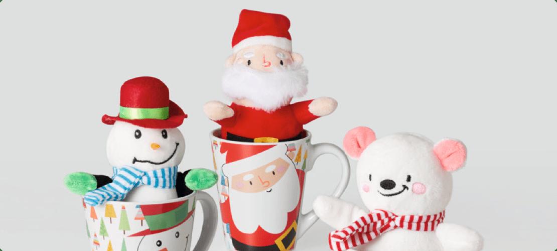 mugs navideños
