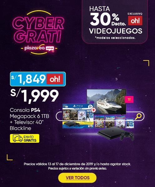 Consola Megapack 6 y Consola PS4