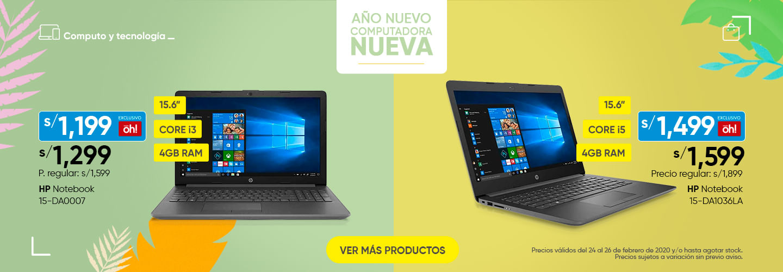 HP 15-DA0007 y HP NOTE 15-DA1036la