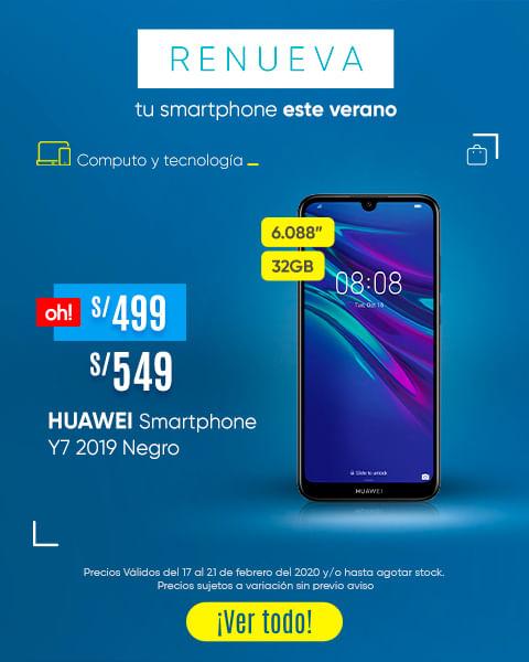 HUAWEI SMARTPHONE Y6 y HUAWEI SMARTPHONE P30