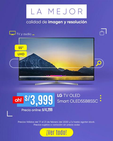 LG OLED 55 y LG OLED 65