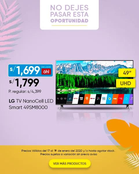 LG TV LED 49 y LG TV LED 55