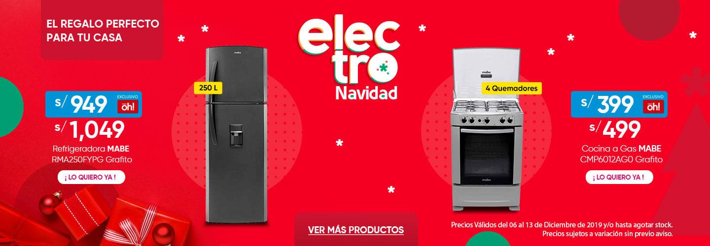 Refrigeradora RMA250FYPG y Cocina a Gas