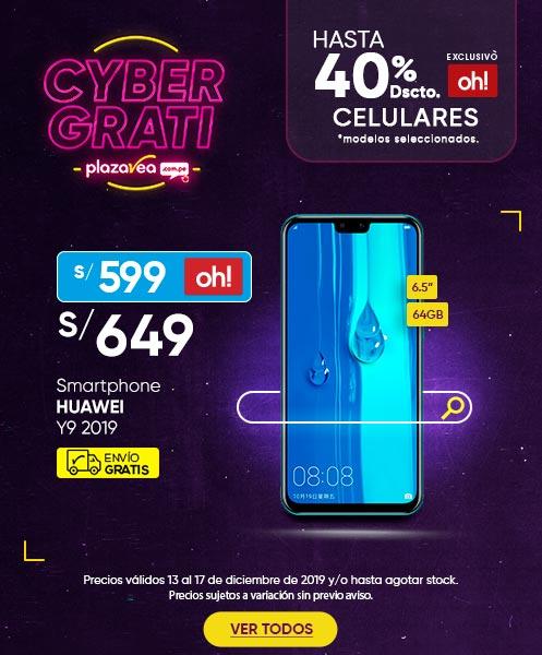 Smartphone Y9 2019 y Smartphone Galaxy A20S