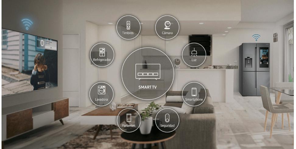 Smart Things te permite interactuar con diferentes dispositivos del hogar   cámaras, refrigerador, smartphone, parlantes y más. 00b8ac973999